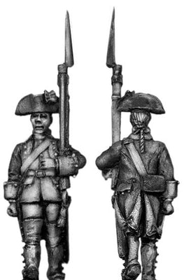 Dutch Musketeer, march-attack, coat with cuffs and lapels (28mm)