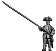 Dutch Standard Bearer, marching, coat with cuffs and lapels (28mm)