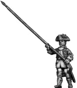 Dutch Standard Bearer, marching, coat with cuffs only (28mm)