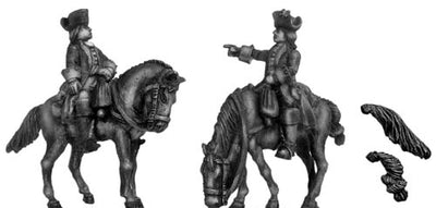 Dutch Mounted Officer (28mm)