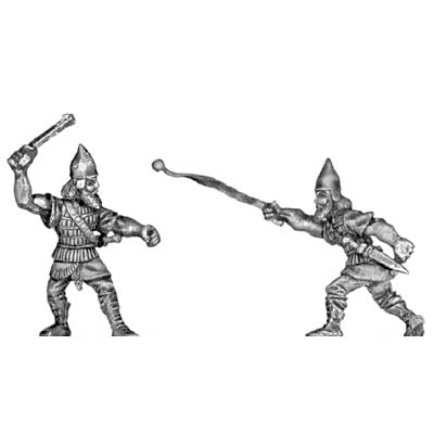 Assyrian heavy slinger (28mm)