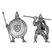 Assyrian Guard infantry, with spear and shield (28mm)