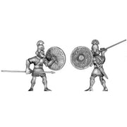 Assyrian auxilary infantry, with spear and shield (28mm)