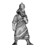 Assyrian King, on foot (28mm)