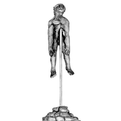Assyrian impaled prisoner (28mm)