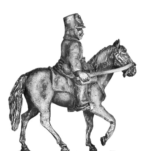 Austrian 1864-66 mounted officer (28mm)