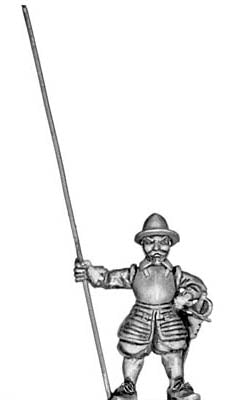 English Civil War pikeman (28mm)