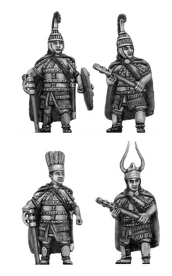 Greek armoured axemen (28mm)