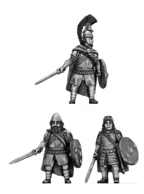 Greek hero with sword (28mm)