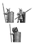 Greek hero in Dendra armour (28mm)