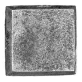 20mm square, no slot, textured (28mm)