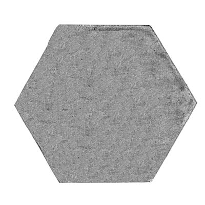 33.5mm (across flat) hexagon, plain (28mm)