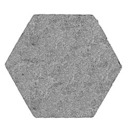 16.5mm (across flat) hexagon, plain (28mm)