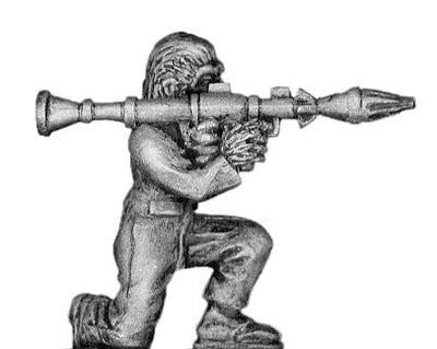 Boiler Suited Ape, with RPG (28mm)