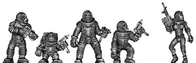 Apes in Space (28mm)