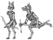 Anubis jackal warrior with bows (28mm)