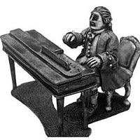 C. E. Bach at the clavichord (28mm)
