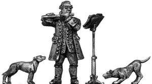 Frederick the Great playing the flute (28mm)