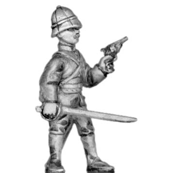 Senegalese Tirailleur European officer (28mm)