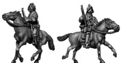 Mounted Arquebusier (28mm)