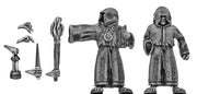 Generic robed follower/monk with assorted accoutrements (28mm)