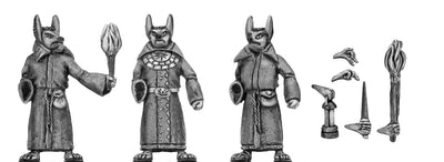 Acolytes of Anubis with assorted accoutrements (28mm)