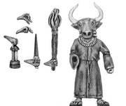 Acolyte of Moloch with assorted accoutrements (28mm)