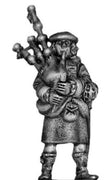 17th Century Scottish piper (28mm)