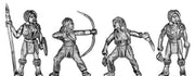 American Indian warrioress (28mm)