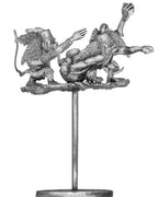 Flying carpet, with angel winged monkey crew (28mm)