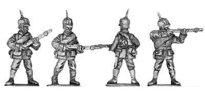 Prussian infantryman (28mm)