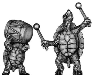 Pond Wars Turtle/Terrapin drummer team (28mm)