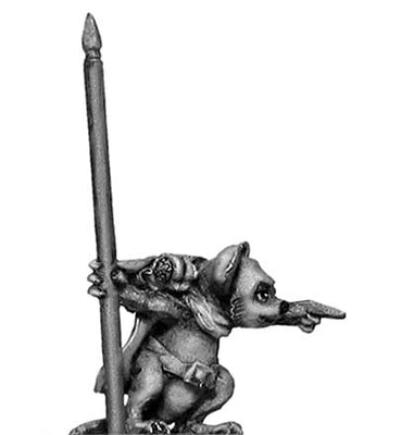 Warrior Mouse Shaman (28mm)