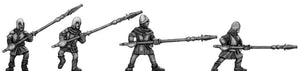 Kamarg Warrior with flame lance (28mm)