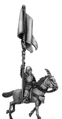 Kamarg Cavalry standard bearer (28mm)