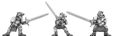 Wolf Order warrior with greatsword (28mm)