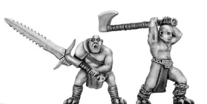 Wolf Order slave/dishonoured with handweapons (28mm)