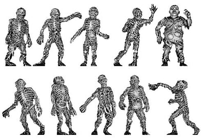 Pack of the Dead Zombie Set (28mm)
