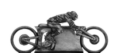 Mad Maximillian Single Hog and rider (28mm)