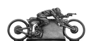 NEW - Mad Maximillian Single Hog and rider firing machine pistol (28mm)