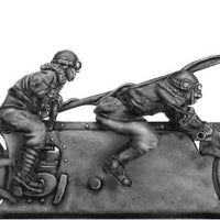 NEW - Mad Maximillian Tandem Hog and crew, grenade lance armed (28mm)