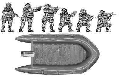 NATO Special Forces Frogmen (28mm)