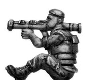 French Foreign Legionnaire in beret with AT-4 rocket launcher (28mm)