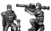 French Foreign Legionnaire LRAC 89mm AntiTank rocket launcher (28mm)