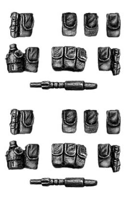Extra French Foregin Legion personal gear set (28mm)