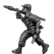 1970s ZANLA guerilla with RPG-2 in peaked cap (28mm)