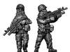1960-80s US MOPP gear squad in helmet (28mm)