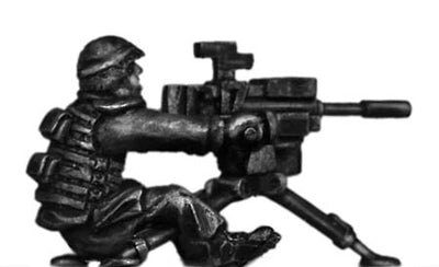 German Bundeswehr 40mm Automatic Grenade launcher and operator (28mm)