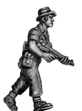 British infantry NCO with Sterling 1967 Aden (28mm)