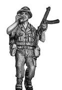 British infantry signaller with radio and Sterling 1967 Aden (28mm)